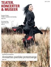 """Forside til """"Teater, koncerter, museer"""" februar 2018."""