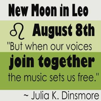 New Moon Leo Astrology