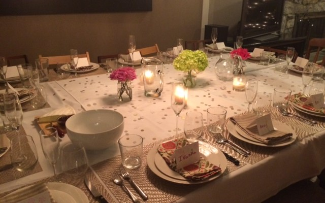 Hosting A Dinner Party – The Menu (NYE 2015)
