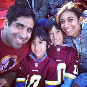 Redskins Family Pic