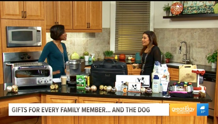 Great Day Washington TV Segment: Holiday Gift Ideas For The Whole Family