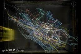 Idrija mine network
