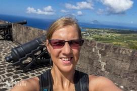 Brimstone hill fortress, St. Kitts, Caribbean