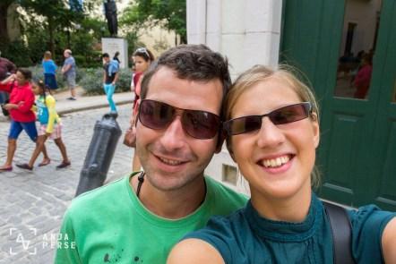 My shoppie friend and me in Havana, Cuba