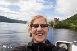 Lock Ness and Urquhart Castle, Scotland, United Kingdom