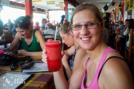 Drinks at Castries, St. Lucia, Caribbean