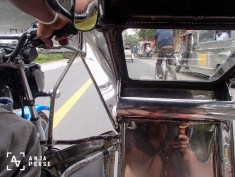 Tricycle ride...
