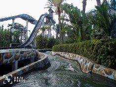 Water ride at Enchanted Kingdom