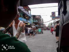 Tricycle ride through Tondo... Crazy...