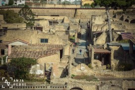 Dead city with tourists... Herculaneum