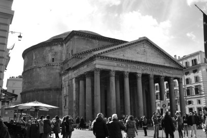 A temple to all the gods of ancient Rome
