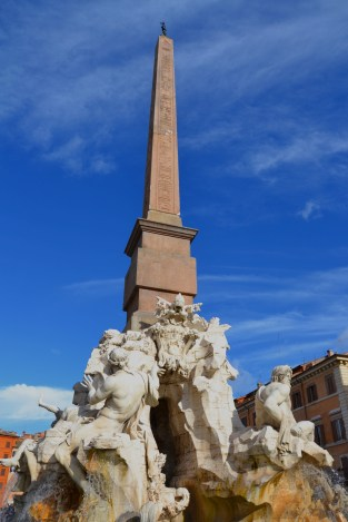 Obelisk of Domitian in the middle of the Piazza Navona (1)
