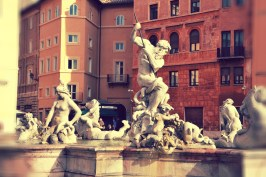 Fountain of Neptune on the northern side of the Piazza Navona (4)
