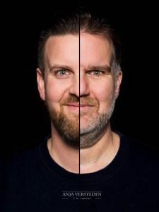 Twee in Een foto. Duo portret