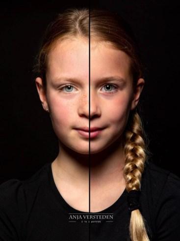 Duoportret twee zusjes
