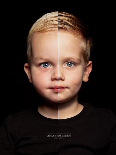Kinderfotografie 2in1 portret