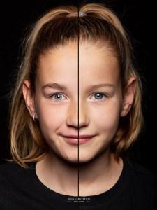 Split portret