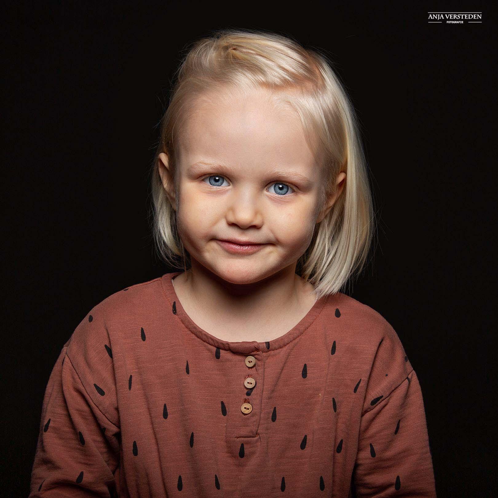 Tijdloos kinderportret kinderfotografie