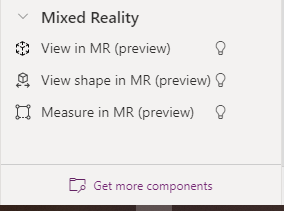Mixed Reality Component