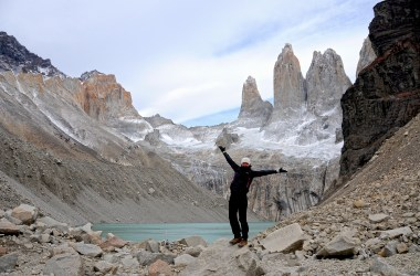 Anjci All Over | Embracing travel at Mirador Los Torres, Torres del Paine, Chile