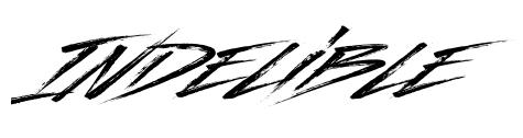 #AtoZChallenge - indelible