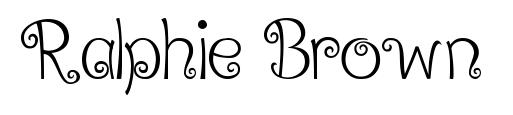 ralphie brown