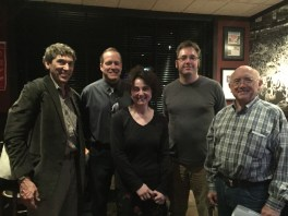 Members of the Libertarian Party of Oakland County gathered at the Rusty Bucket to change their party's bylaws this spring.