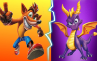Crash Bandicoot and Spyro the Dragon Retro Games Remastered