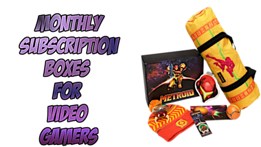 Monthly Subscription Boxes for Video Gamers