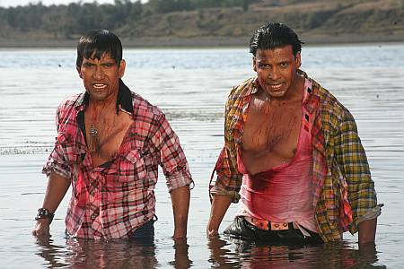 Dinesh Lal Yadav and Viraj Bhatta in Dag