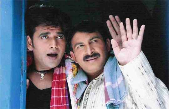 Ravi Kishan and Manoj Tiwari