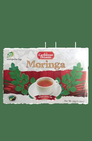 Caribbean Dreams Moringa Tea (20 pack)   Caffeine Free