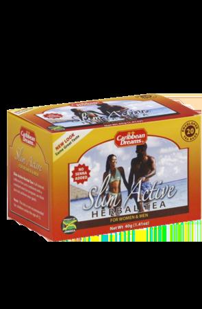 Caribbean Dreams Slim Active Tea (pack of 20 tea bags)