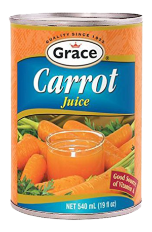 Grace Canned Carrot Juice