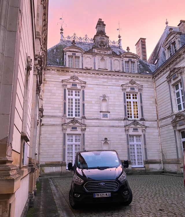 chateau chasse, vtc angers