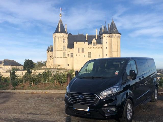 château saumur, vtc, chauffeur privé, uber saumur