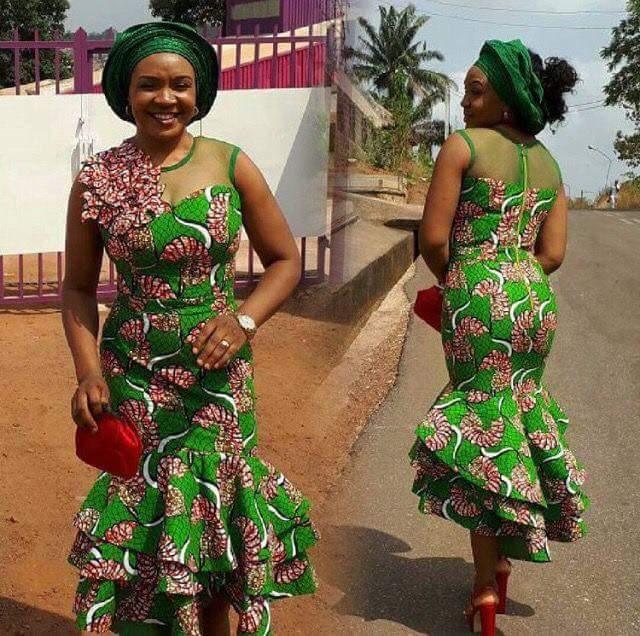 Nigerian Ankara Dresses, For Fabulous Ladies/Women
