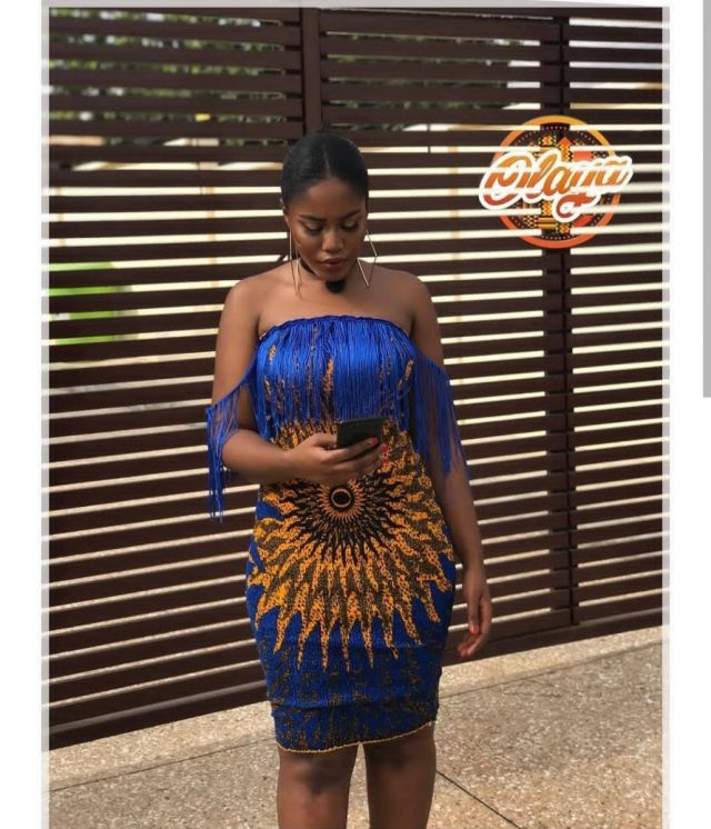 Latest Short Ankara Gown For Ladies (2018)