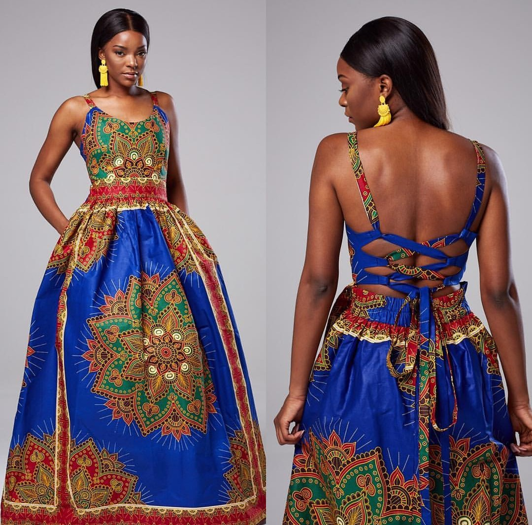 Casual Ankara Gowns Styles-50 Classy Styles For Fashionistas