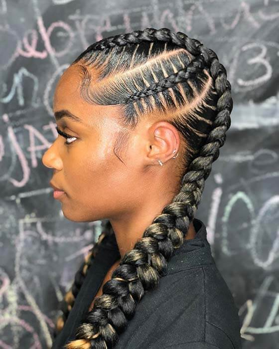 2 Feed in Braids Hairstyles With 35 Best Ways to Dress