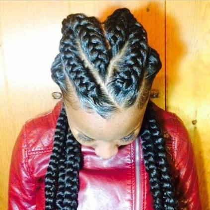 2 Feed in Braids Hairstyles With 35 Smart Ways to Dress