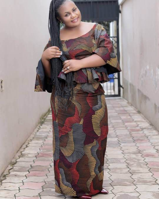 brown kitenge fashion Styles 2020 To Take For African Celebrities
