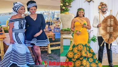 Amazing Traditional Dresses 2020 For South African Celeb