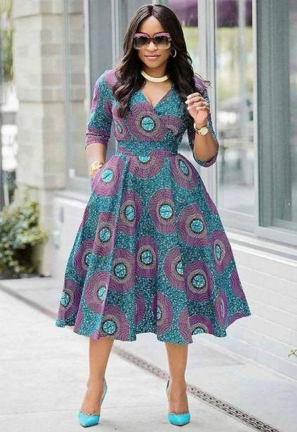 35 Amazing African Wear Styles 2021 for Ladies In Ghana