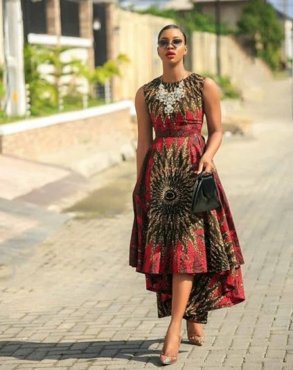 35 Amazing African Wear Styles 2021 for Ladies In Ghana