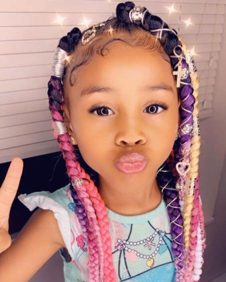 35 Best Ghana Braids Hairstyles For Kids With Tutorial 2020