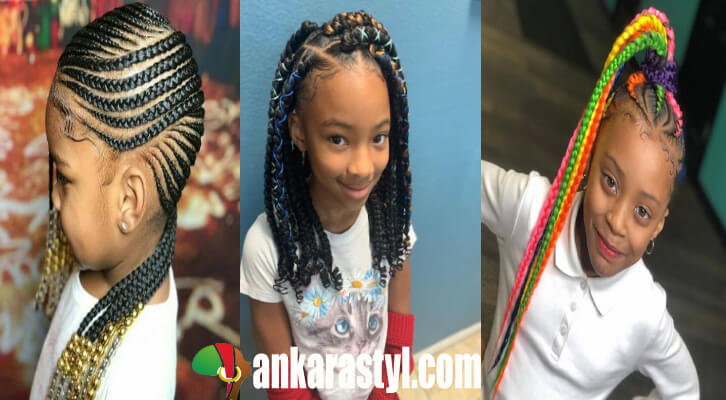 35 Best Ghana Braids Hairstyles For Kids With Tutorial 2021