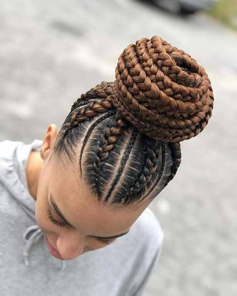 21+ Amazing Braided Bun Hairstyles Ponytails To Copy In 2020