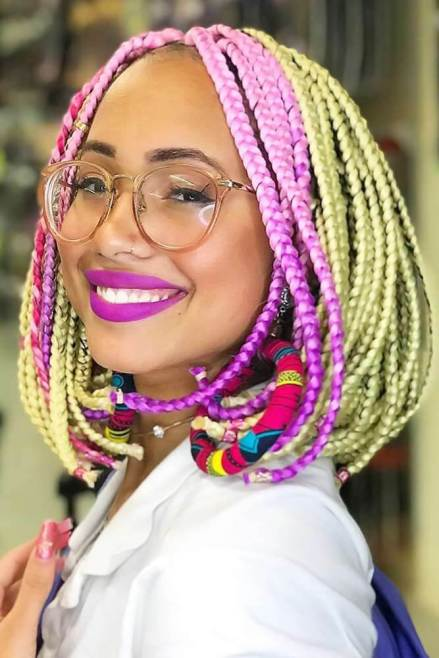 23 Dope Box Braids Hairstyles With Best Ways To DIY In 2020