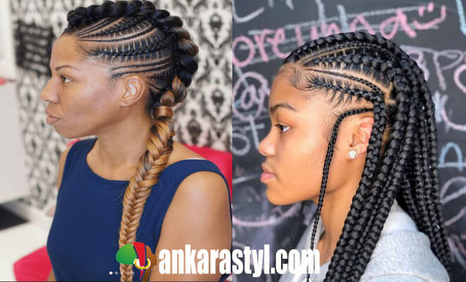 How to Do Feed in Braids Ponytail At Home